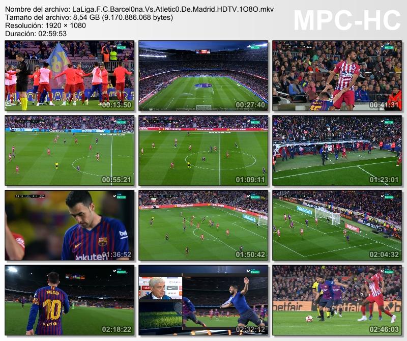 LaLiga - F.C Barcelona VS Atlético de Madrid (2018/19)[HDTV 1080p][Catellano][VS]