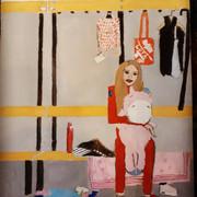 Алёна Косторная на шоу в Италии, в раздевалке