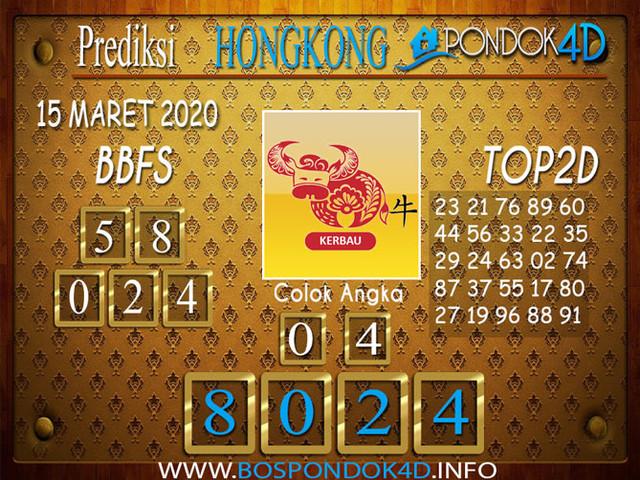 Prediksi Togel HONGKONG PONDOK4D 15 MARET 2020