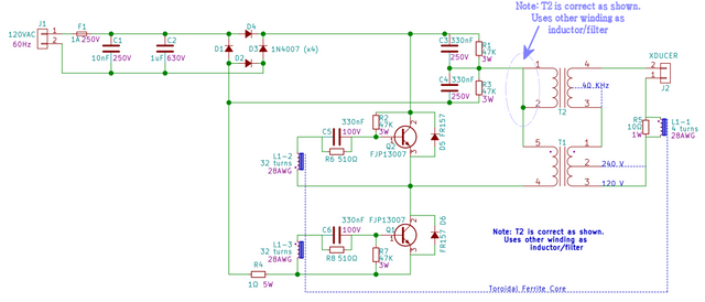 Power-supply-ultrasonic-cleaner