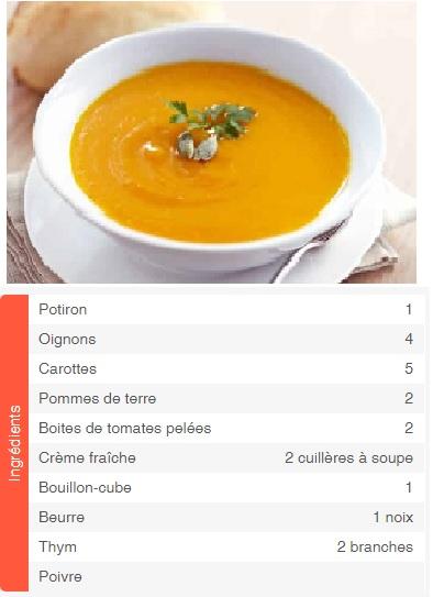Soupe-au-potiron
