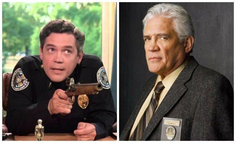 Джордж Бэйли, 74 года - лейтенант Харрис актеры, кино, комедия, любимое кино, полицейская академия, роль, фильм, юмор