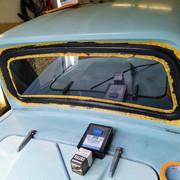 Invacar Rear Windscreen Seal Temporary Repair