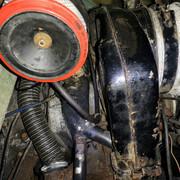 Invacar fuel pump to carburettor routing