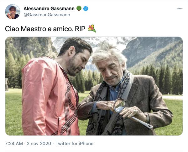 Morte Gigi Proietti: il ricordo dei colleghi
