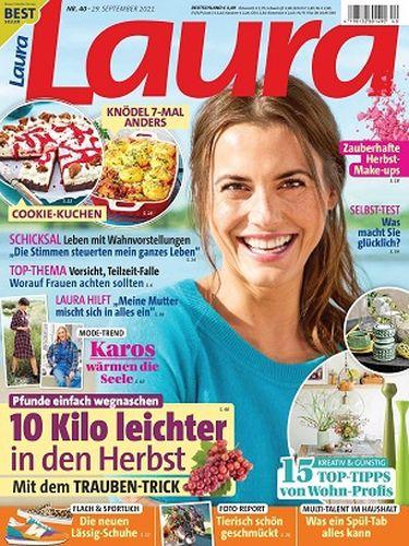 Cover: Laura Frauenmagazin No 40 vom 29  September 2021