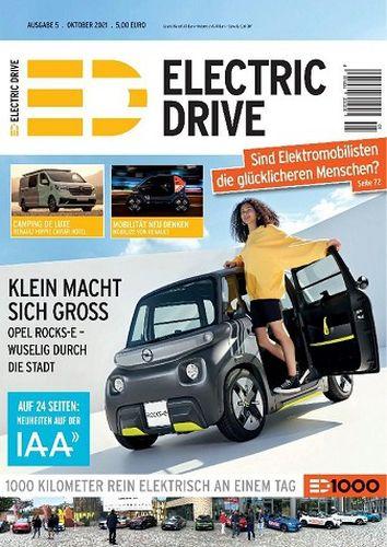 Cover: Electric Drive Magazin No 05 2021