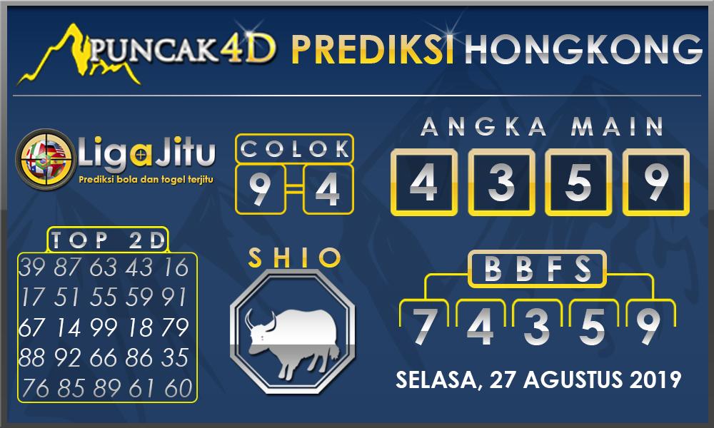 PREDIKSI TOGEL HONGKONG PUNCAK4D 27 AGUSTUS 2019