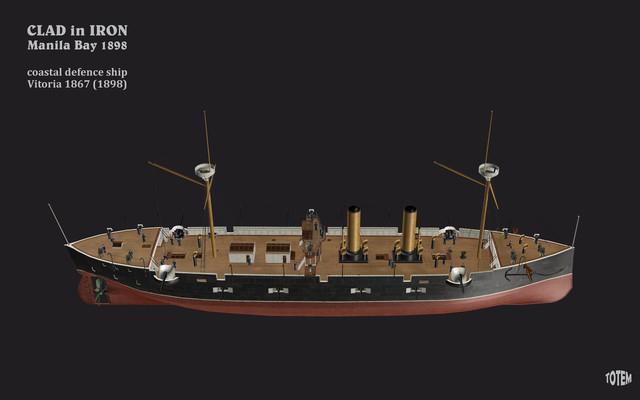 7250t-Armada-Espanola-coast-defence-ship