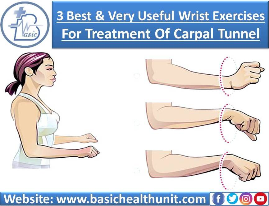 3 Best And Very Useful Wrist Exercises For Treatment Of Carpal Tunnel