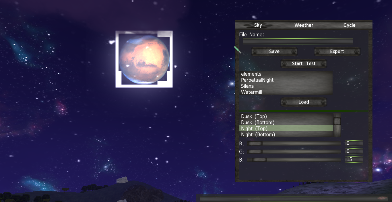 moon texture issue