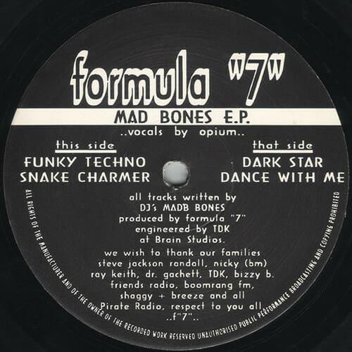 Formula 7 - Mad Bones E.P.