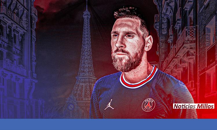 Messi debut paris