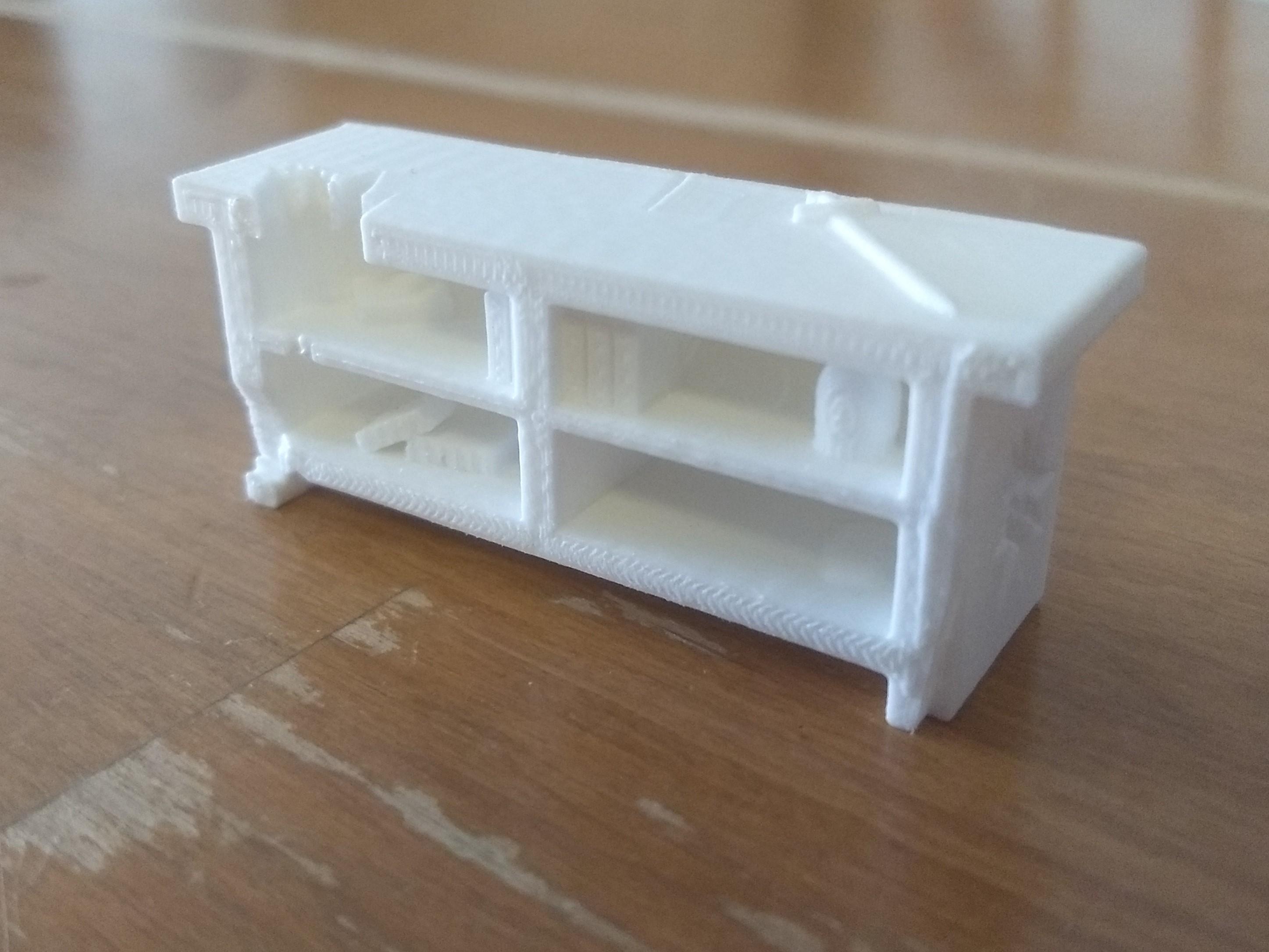 3D printed ancient desk