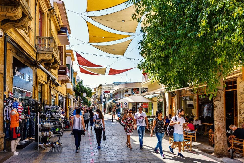 Ледра Кипр улица фото