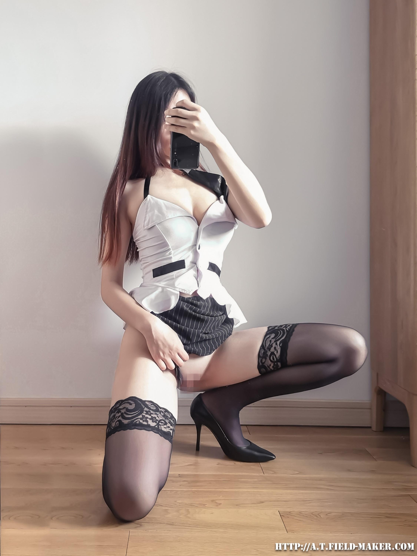 Tsubaki Album Selfie vol.002 Mini Hip Skirt Sexy Teacher 022