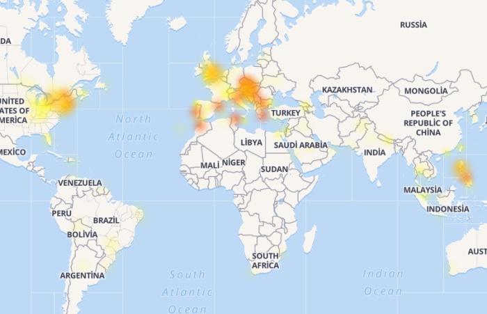Facebook haritası