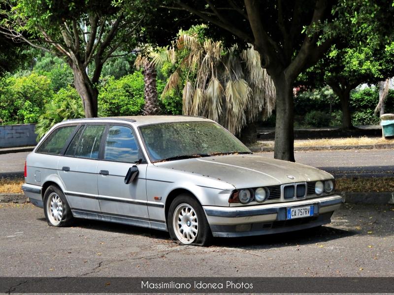 Auto Abbandonate - Pagina 19 Bmw-E34-Touring-525-tds-2-5-143cv-CA757-RV-2