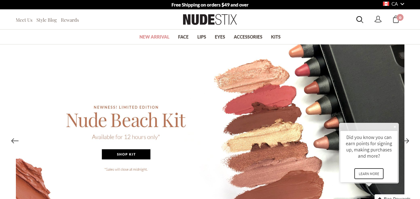 The Nudestix travel product recommended by Megan Glover on Pretty Progressive.