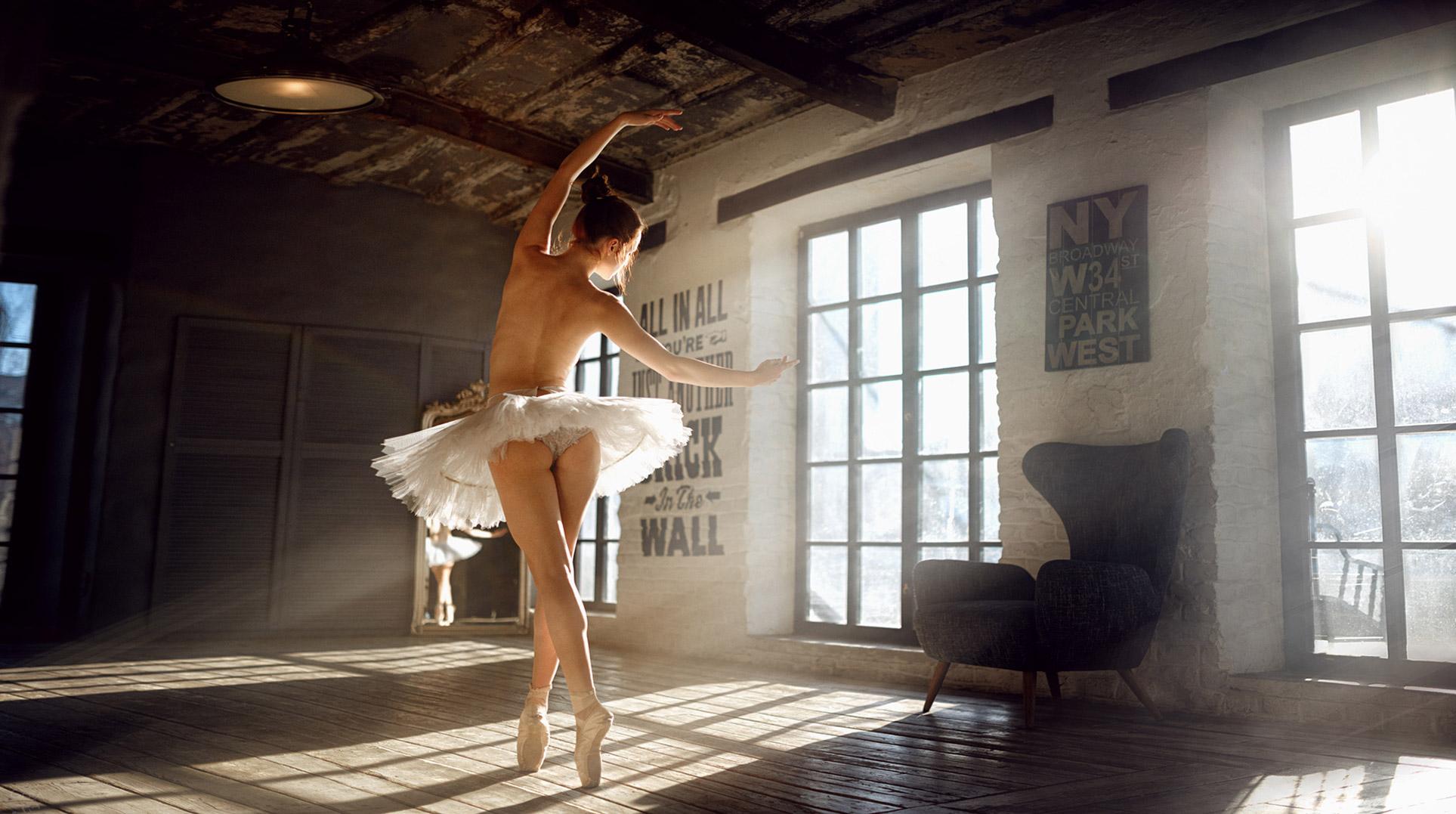 Сексапильная балерина Катя Шер / фото 05
