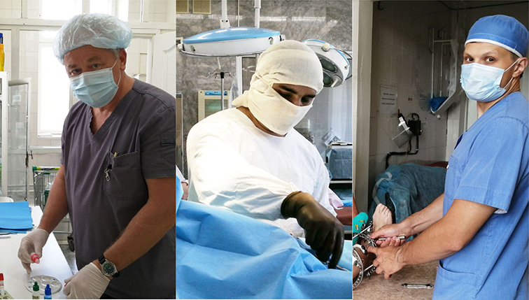 Врачи - травматологи-ортопеды Краснотурьиской больницы