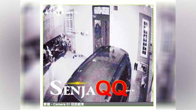 Geger Sosok Hantu Tertangkap Kamera CCTV Sangat Jelas