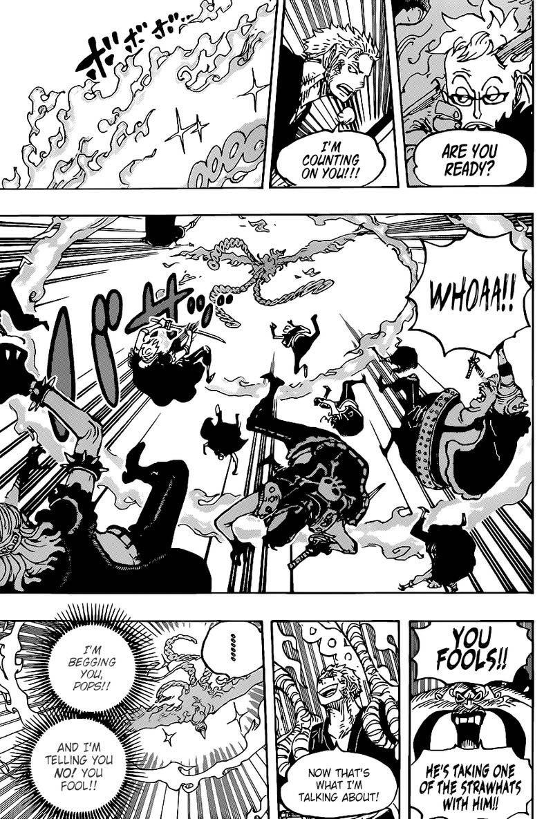 One Piece Manga Chapter 999 - 009