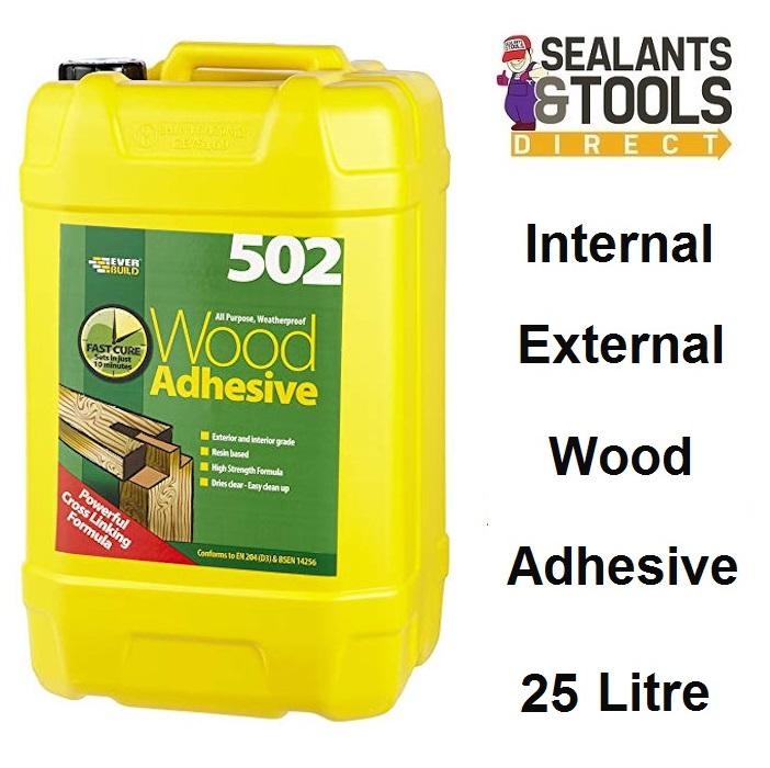 Everbuild 502 Wood Adhesive 25 Litre WOODA25