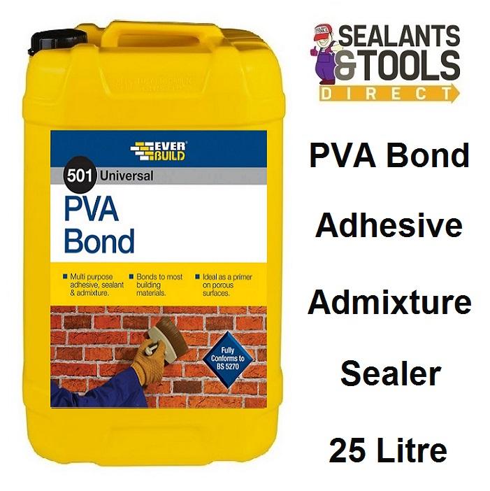 Everbuild 501 PVA Bond 25 litre PVAB25L