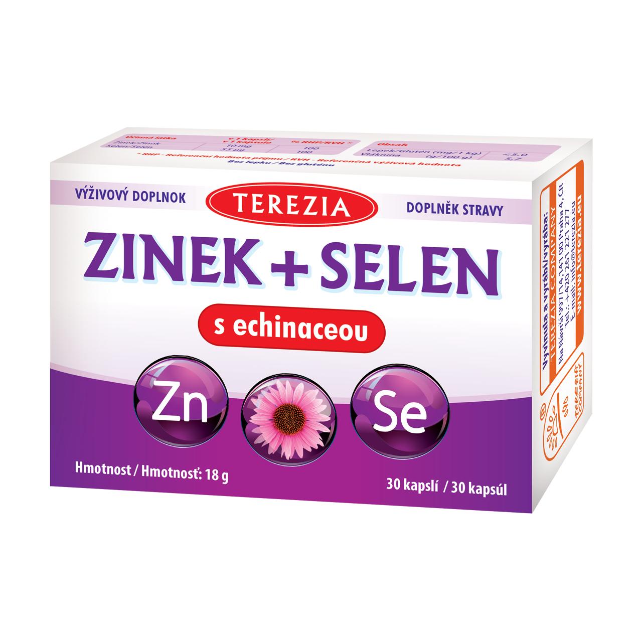Levně Zinek + selen s echinaceou