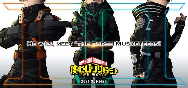 《我的英雄學院》由原作堀越耕平總監修的第三彈劇場版將於2021年夏公開 Eo-CHRlt-VQAEh3r-W