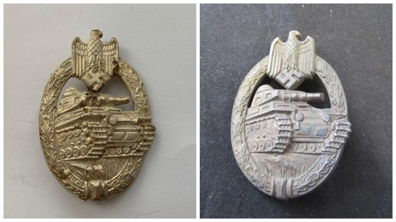 Panzer Badge : 2 and 3 klasses