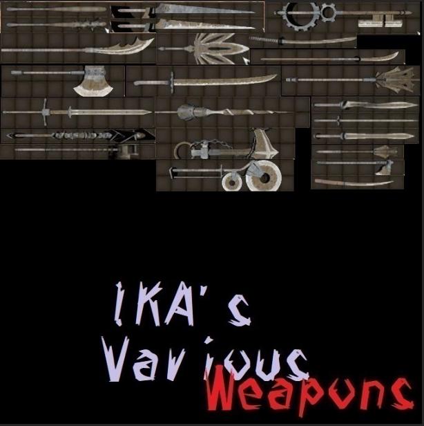 IKA's Various Weapons (RU)