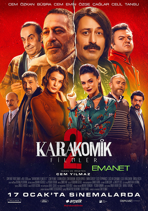 Karakomik Filmler 2: Emanet | 2020 | Yerli Film | NF | WEB-DL | XviD | Sansürsüz | 720p - 1080p - m720p - m1080p | WEB-DL | Tek Link