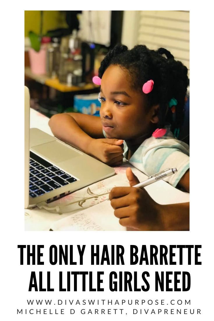 Let's talk about THE ONLY hair barrette that all little girls need. Created by a mom-daughter duo, this invention ensures that you have no more lost bows.
