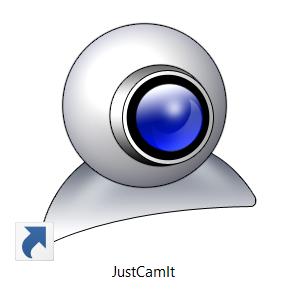 Justcamit Logo on Desktop