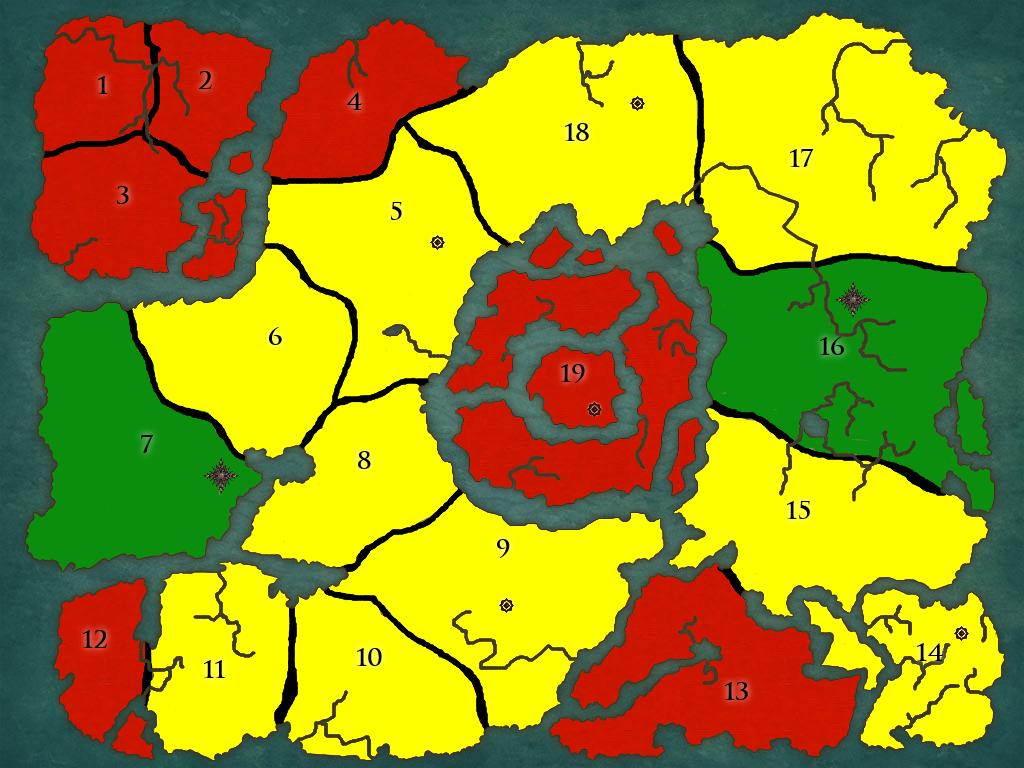 World Map Map-1