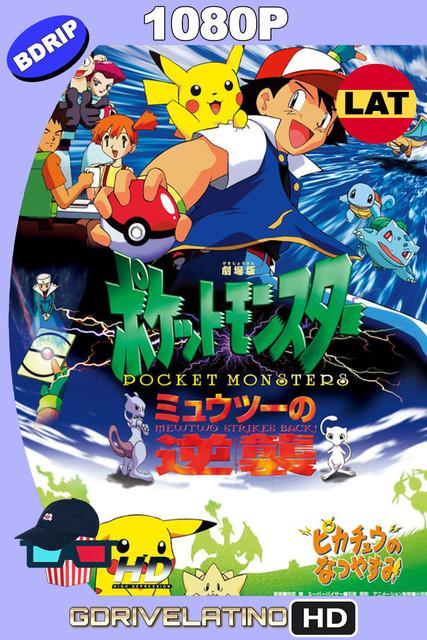 Pokémon: Mewtwo Contraataca (1998) BDRip 1080p Latino-Japonés MKV