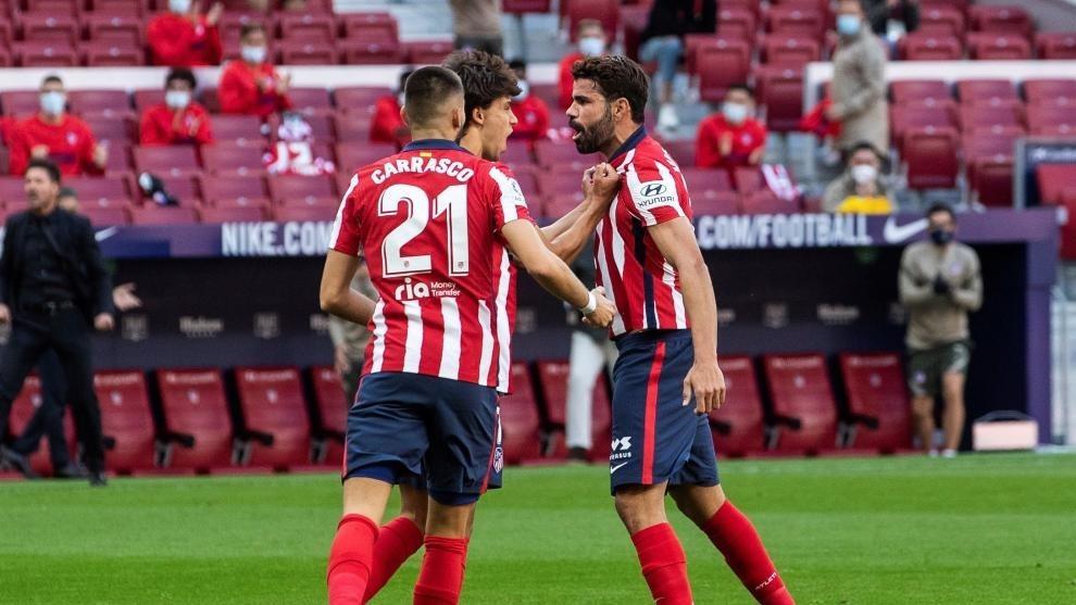 Diego Costa delantero titular