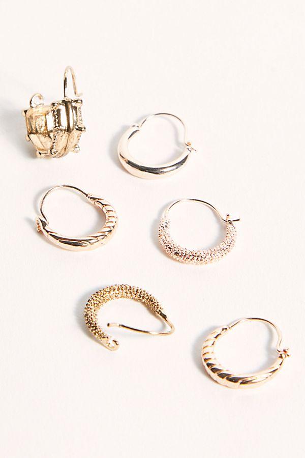 Free People Engraved Hair Rings -hair-accessory