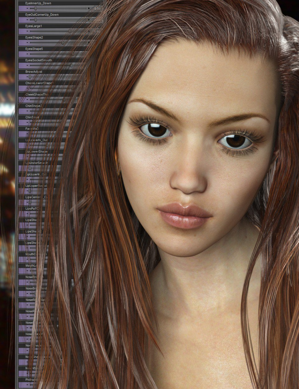 Genesis 3 Female Head Morph Resource Kit