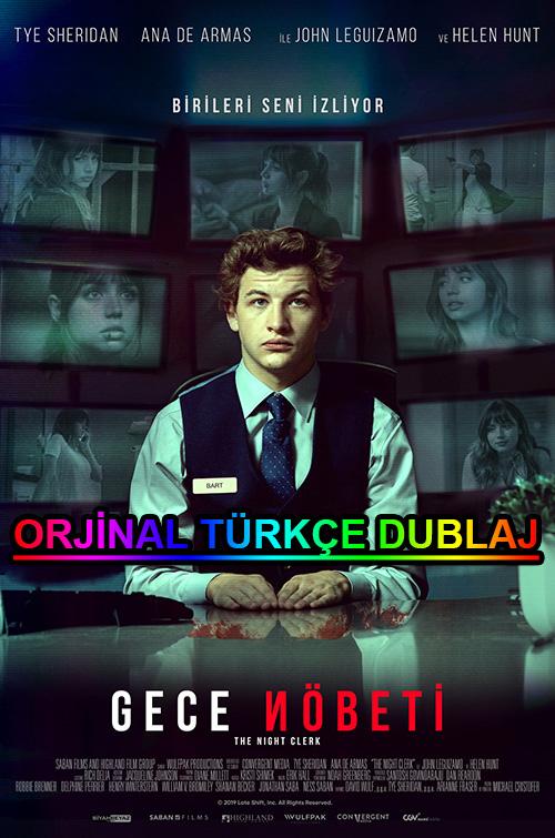 Gece Nöbeti   The Night Clerk   2020   BDRip   XviD   Türkçe Dublaj   m720p - m1080p   BluRay   Dual   TR-EN   Tek Link