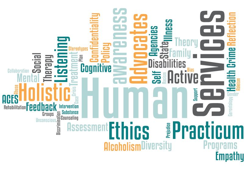 Human Services Word Cloud