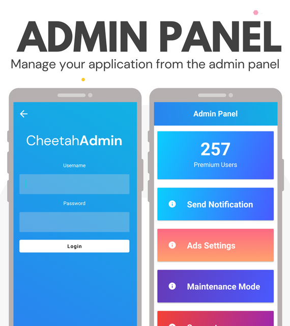 CheetahWeb | Convert your Website to Android App in 10 Minutes | Admin Panel - 3
