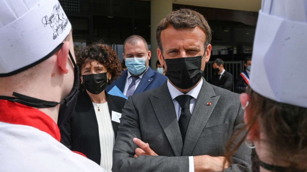 President Macron Image Source: https://abcnews.go.com/amp/International/french-president-macron-slapped-face-official-trip/story?id=78154141