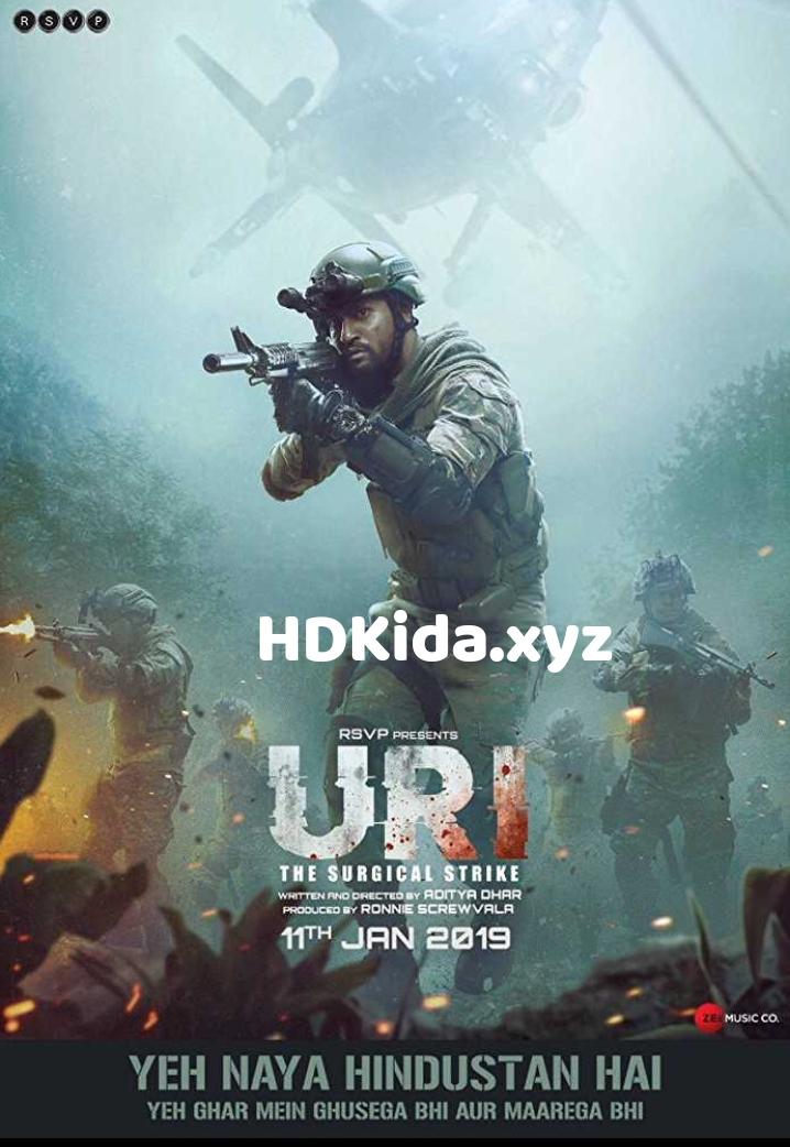 URI : The Surgical Strike (2019) DTS HD-MA Hindi 5.1CH BluRay x264