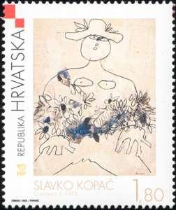 2003. year HRVATSKO-MODERNO-SLIKARSTVO-KOPA-CVJE-ARICA-II-1973