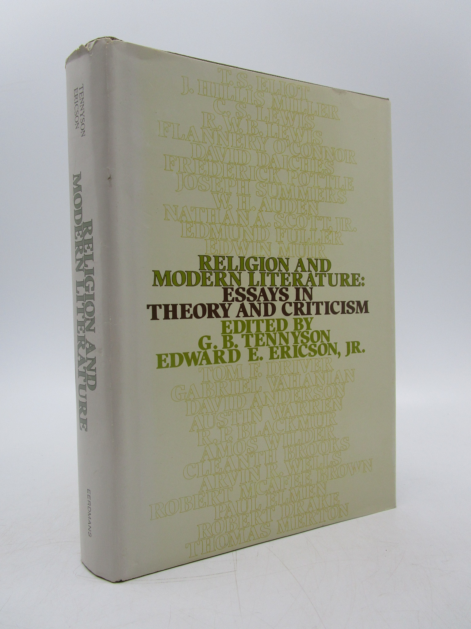 Image for Religion and Modern Literature: Essays in Theory and Criticism