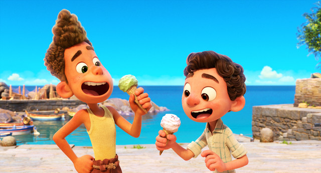 Set-in-a-beautiful-seaside-town-on-the-Italian-Riviera-Disney-and-Pixars-Luca-is-a-coming-of-age-sto