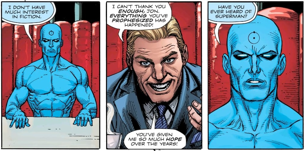 Doomsday Clock 10 Spoilers The Entire History Of The Dc